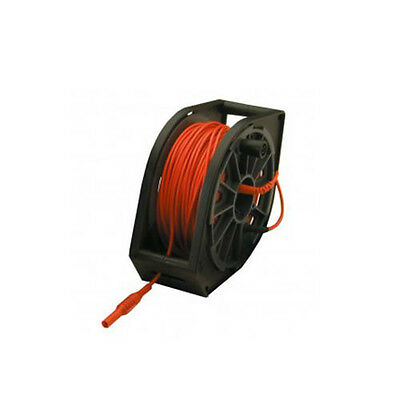 Megger 1000-349 Red 50m Cable Reel, 115 V