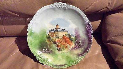 Antique Limoges Scenic European Collector Plate
