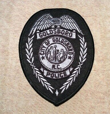 NC Goldsboro North Carolina Police Patch (Subdued)