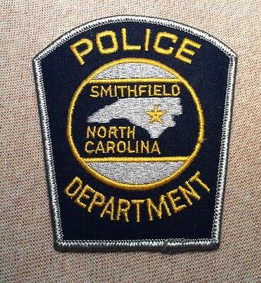NC Smithfield North Carolina Police Patch (New)