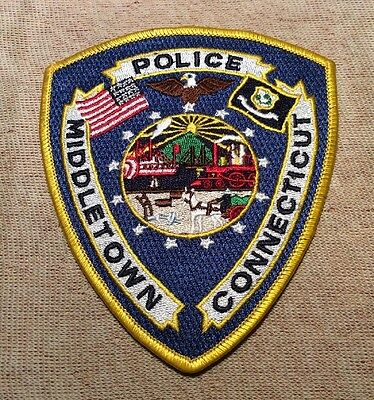 CT Middletown Connecticut Police Patch