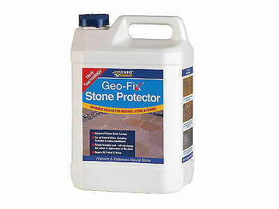 Everbuild Geo-Fix Natural Stone Protector Patio Paving Sealer 1 Litre