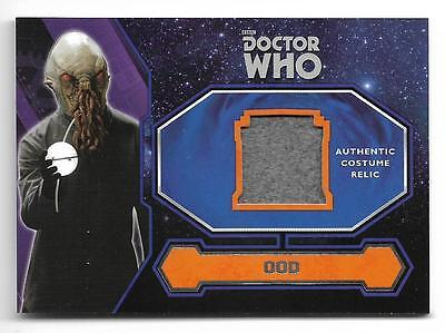 2015 Topps Doctor Who Costume Wardrobe Relic Card Ood Alien Costume