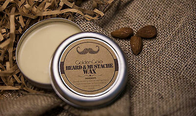 Men Beard Wax Balm 100% Natural with Extra Virgin Olive Oil