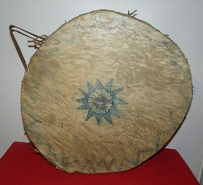 Tarahumara Mexican Indian Well-Used Older Drum