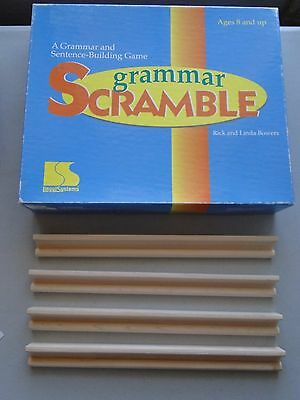 Grammar Scramble Game Sentence Structure & Grammer Usage Activity, Language Arts