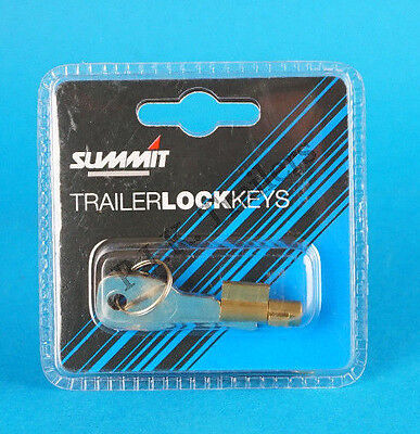 Anti-Theft Lock for Pressed Steel Coupling Hitch on Erde & Daxara Trailer