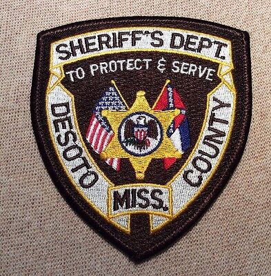 MS Desoto County Mississippi Sheriff Patch