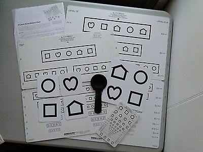 Good-Lite Lea Symbols Foldable Vision Charts and Accessories - Vision Screening