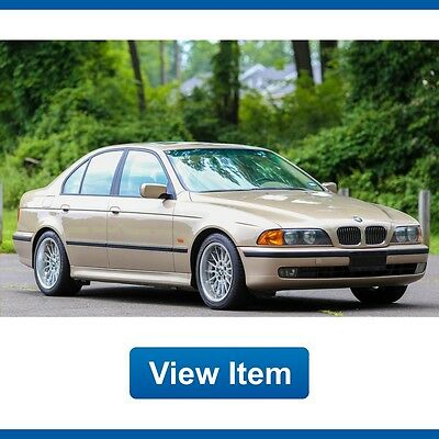 1999 BMW 5-Series Base Sedan 4-Door 1999 BMW 540i 1 Owner Sport Suspension 6 Speed Manual Low 62K Mi CARFAX Texas