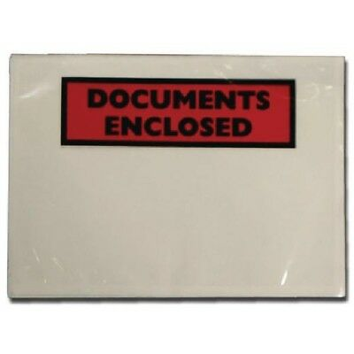 Documents Enclosed Wallet A6 Pack of 1000 A62 PLE-DOC-A6