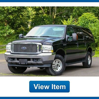 2004 Ford Excursion  2004 Ford Excursion XLT 6.0L 4WD 1 OWNER Turbo Diesel Barn Doors CARFAX