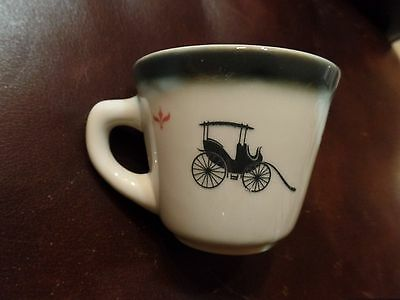 Wellersville Restaurant Cup  Carriage & Carriage Lamp CS