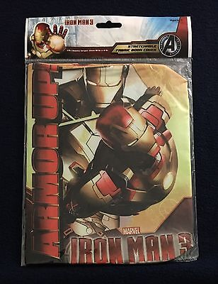 "Marvel IRON MAN 3, Stretchable Fabric Book Cover Avengers (10""x8"")"