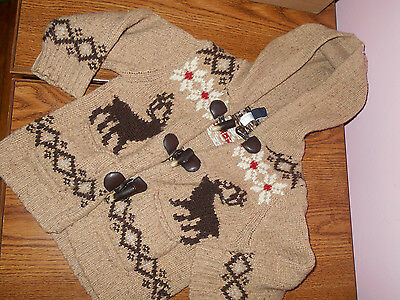 Baby Gap Reindeer Sweater Christmas Size Toddler 3t, EUC