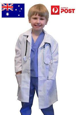 Express post - children's labcoat lab coat for kid with height of 120-140cm