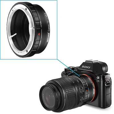 Neewer Lens Mount Adapter for Canon FD, FL Lens to Sony Alpha NEX E-Mount Camera