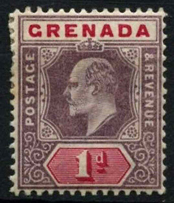 Grenada 1902 SG#58, 1d Dull Purple And Carmine KEVII MH #D52066