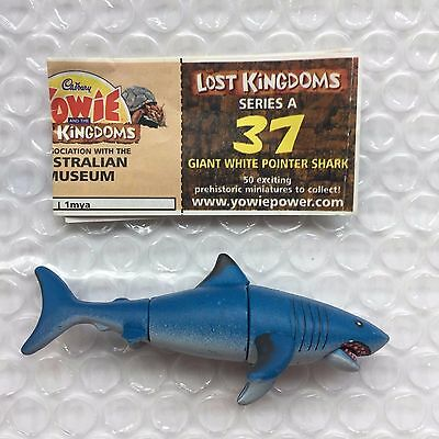 Yowie Yowies, Lost Kingdom Series A * No.37 Giant White Pointer Shark