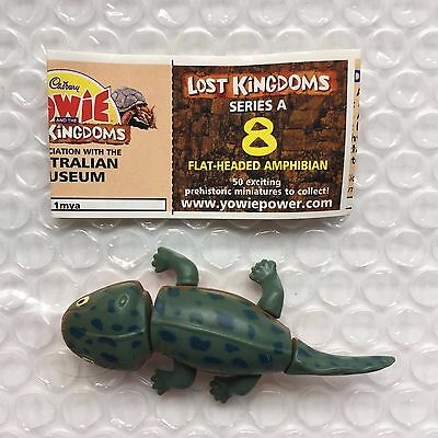 Yowie Yowies, Lost Kingdom Series A * No.8 Flat Headed Amphibian