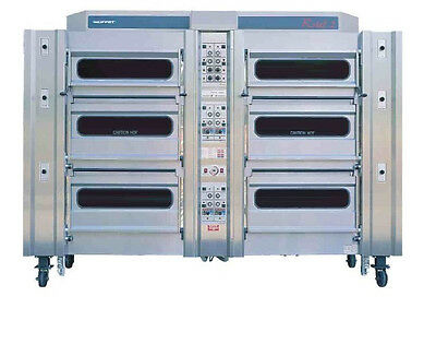 Rotel 2 Rotary oven - 8 deck (20 tray)