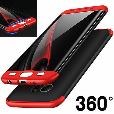 360° Full Hard Cover Phone Case + Screen Protector For Samsung Galaxy S8 S8 Plus