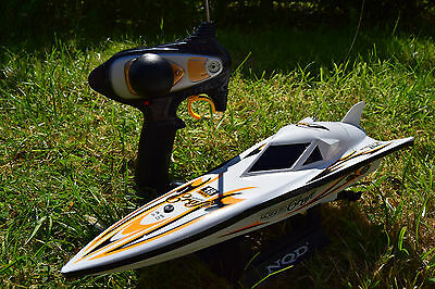 Radio Remote Control Boat Mosquito Craft Thunder Fire Rc Boat High Speed 12Km/hr
