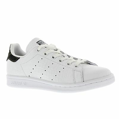 Adidas Stan Smith Footwear White Night Cargo Youth BB0206 Leather Trainers