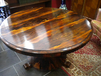William IV Rosewood Centre/Breakfast Table