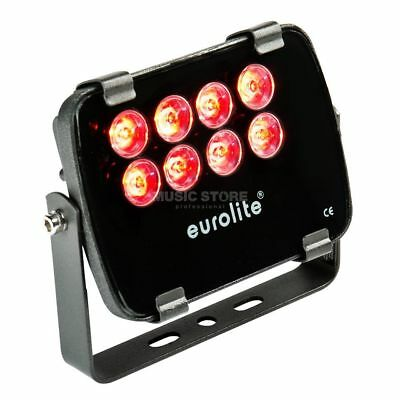Eurolite Eurolite - LED IP FL-8 rot 30° IP 56, 8x1W Garden Light