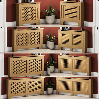 Radiator Cover Unfinished Modern Traditional MDF Wood Grill Cabinet Furniture