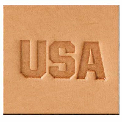 USA  2-D Stamp 8593-00 by Tandy Leather