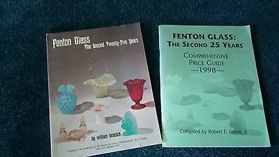Fenton Art Glass 2nd 25yr Catalog Price Guide Book by Willian Heacock