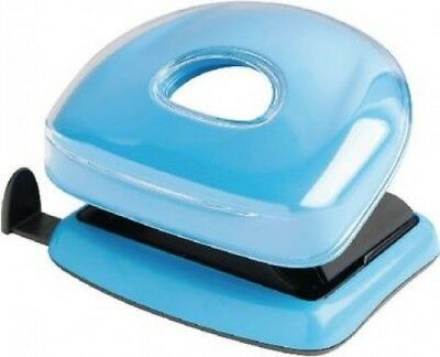 Rexel JOY 2 Hole Punch 10 Sheet Desk Paper Blissful Blue | Home Office