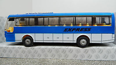 Happy People 35599 Bus Express Pull Back Action Blau  Neuware