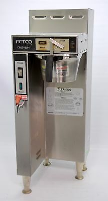 Fetco CBS-51H-15 Single 1.5 Gallon Coffee Brewer Automatic Thermal Machine Water