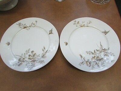 Pair of Antique French Limoges Plates A-5