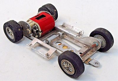 1960's MONOGRAM chassis with motor slot car 1:24