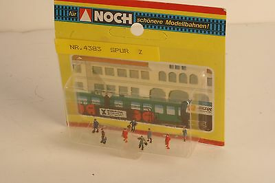 Z Scale Noch 4383 Standing Passenger Station Passengers FREE SHIPPING