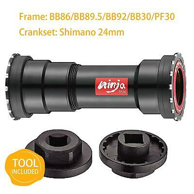 TOKEN Thread-Press Fit Ceramic Bottom Bracket BB86/BB92/BB30/PF30 to Shimano