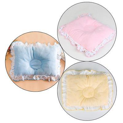 Newborn Infant Baby Pillow Support Cushion Pad Prevent Flat Head Crib Cot Bed Y