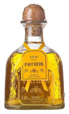 Patrón Anejo Mexican Aged Tequila 750ml (Boxed)