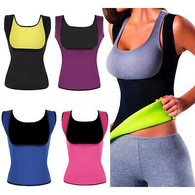 Sport Yoga Sweat Sauna Body Shaper Slimming Waist Trainer Cincher Vest Shapewear