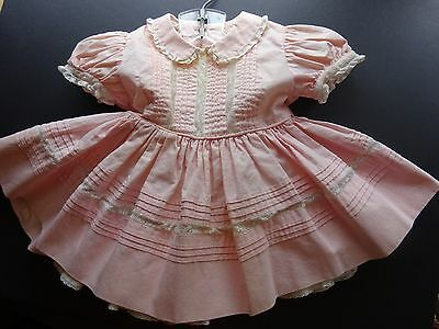 Vintage Girl's Dress  Circa 1950's Adorable 2 Pc. Toddler  Dress with slip