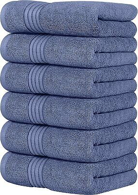 Large Cotton Hand Towels 16 x 28 Inch 700 GSM Pack of 4 By Utopia Towels