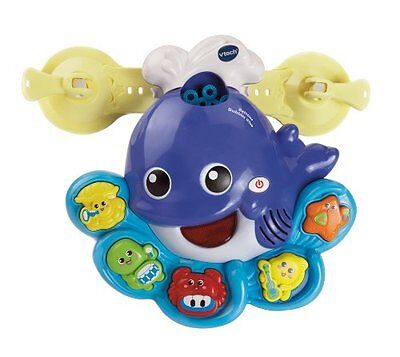 Bath Toys For Kids - VTech Baby Bathtime Whale Blows Out Bubbles and Plays Music