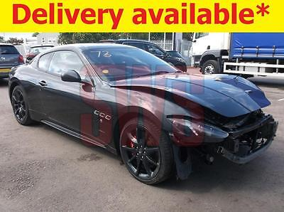2015 Maserati Granturismo Sport Auto 4.7 DAMAGED REPAIRABLE SALVAGE