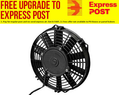 "Spal 14"" Electric Thermo Fan 1310 cfm - Puller Type With Straight Blades"