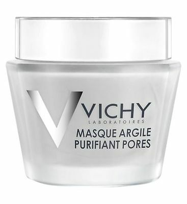 Vichy Pore Purifying Mineral Clay Mask 75ml GENUINE & NEW