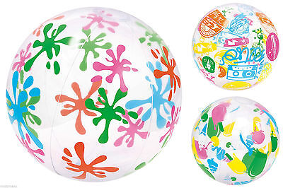 Colourful  Inflatable Ball  Summer Party Decorations Garden & Beach Toy